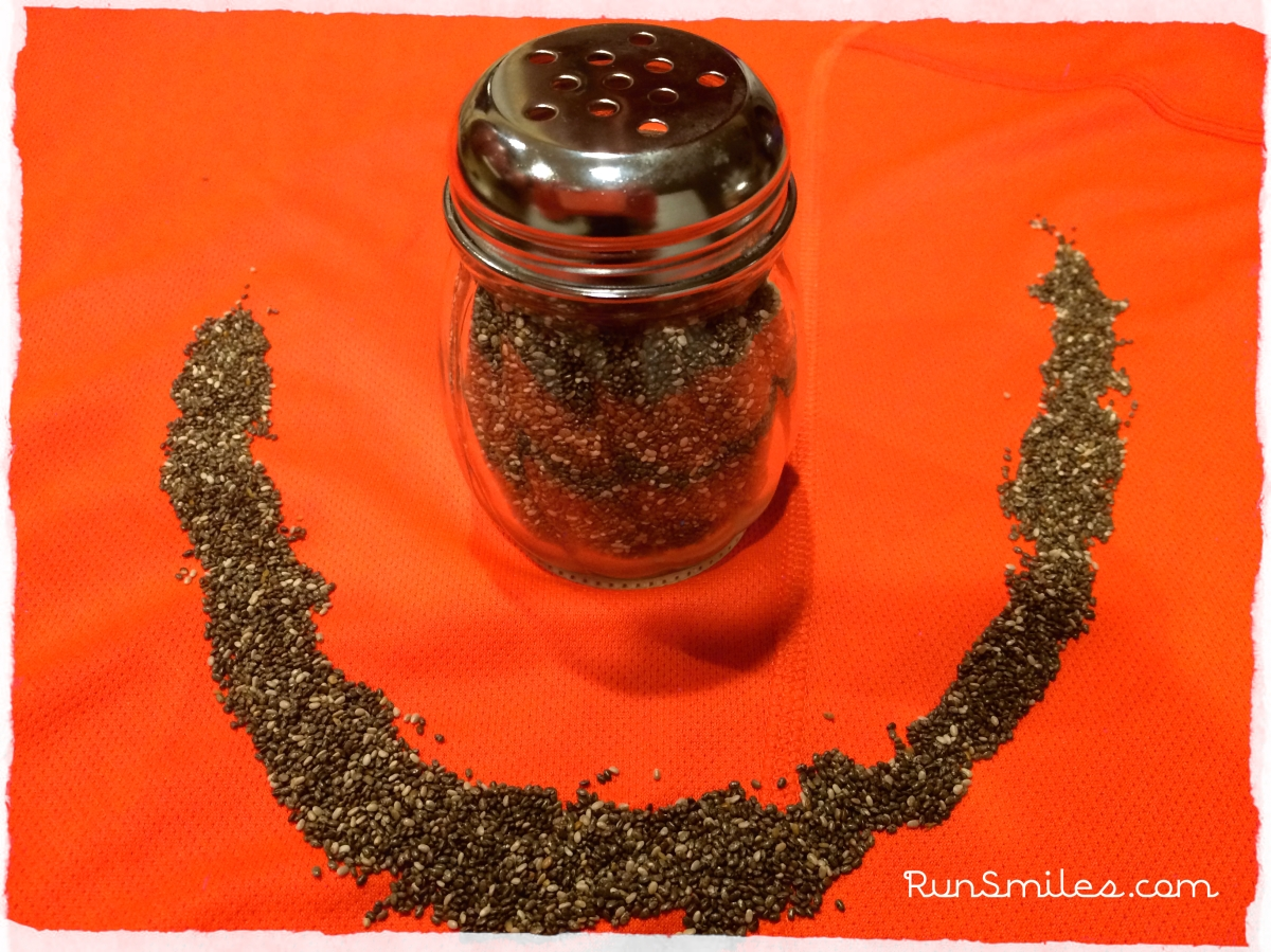 how to eat chia seeds for running
